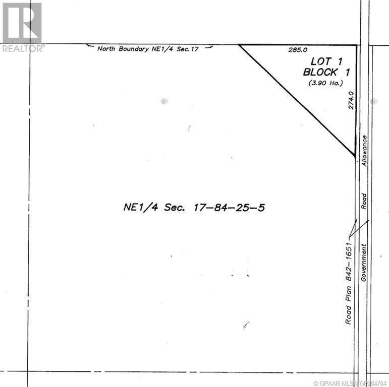 Property Image 5 for NE 17-84-25 W5