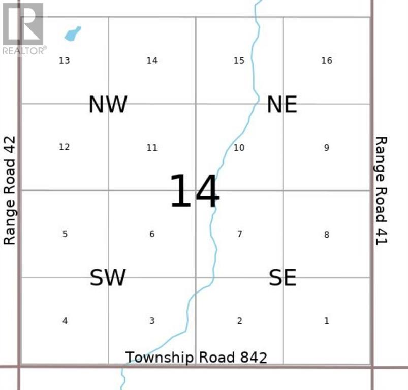 Property Image 4 for NW-14-84-4-W6   NE-14-84-4-W6 Road