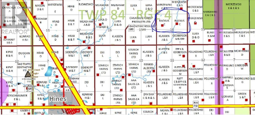 Property Image 5 for NW-14-84-4-W6   NE-14-84-4-W6 Road